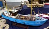 GFK Rumpf Trawler ROSI - Modellmaßstab 1:33  107 cm